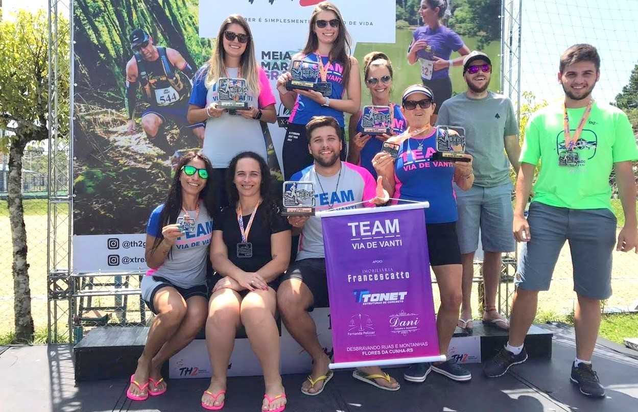 Florenses na meia maratona de Gramado