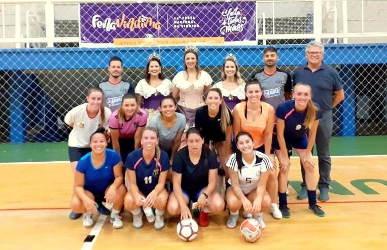 Com seis equipes Copa FenaVindima de Futsal Feminino inicia dia 25 de janeiro