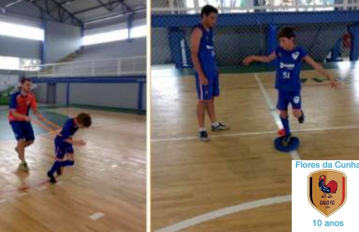 Galo F.C retoma as atividades com os treinos de verão na categoria futsal