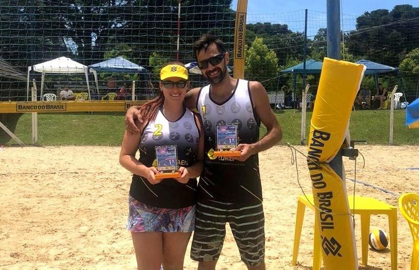 Dupla florense vence 1º torneio de verão aberto de vôlei de areia