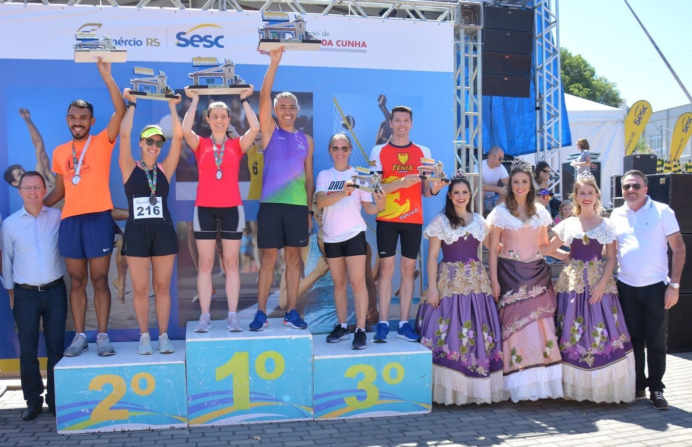 Com 150 atletas, 1ª Rústica de Flores da Cunha foi um grande sucesso
