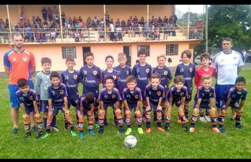 Sub 09 do Galo FC luta até o fim, mas fica com o vice na Copa F7 de Futebol 7