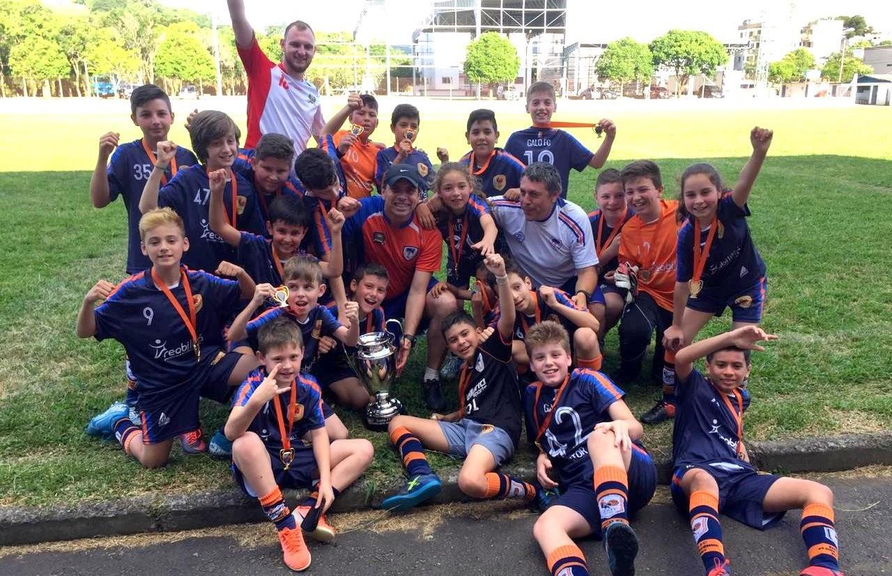 Sub 11 do Galo F.C conquista o título da Copa F7 de Futebol 7
