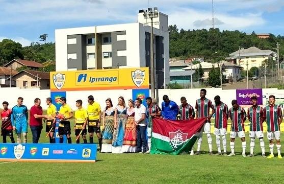 Athletico-PR e Fluminense empatam na abertura da Copa Ipiranga Sub-20