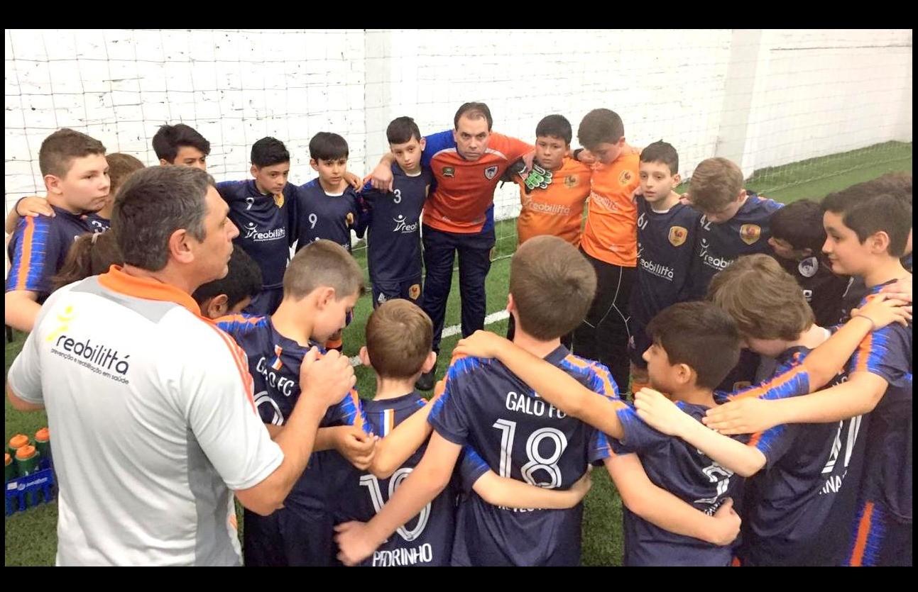 Galo F.C está preparado para as finais da Copa F7 de futebol 7