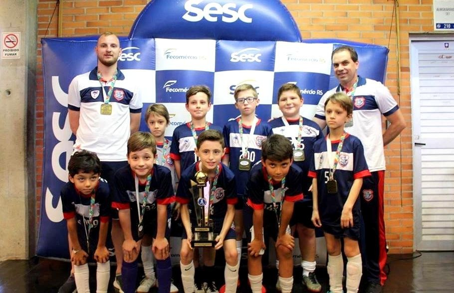 Finais da Copa Sesc de Futsal Escolar de Caxias do Sul