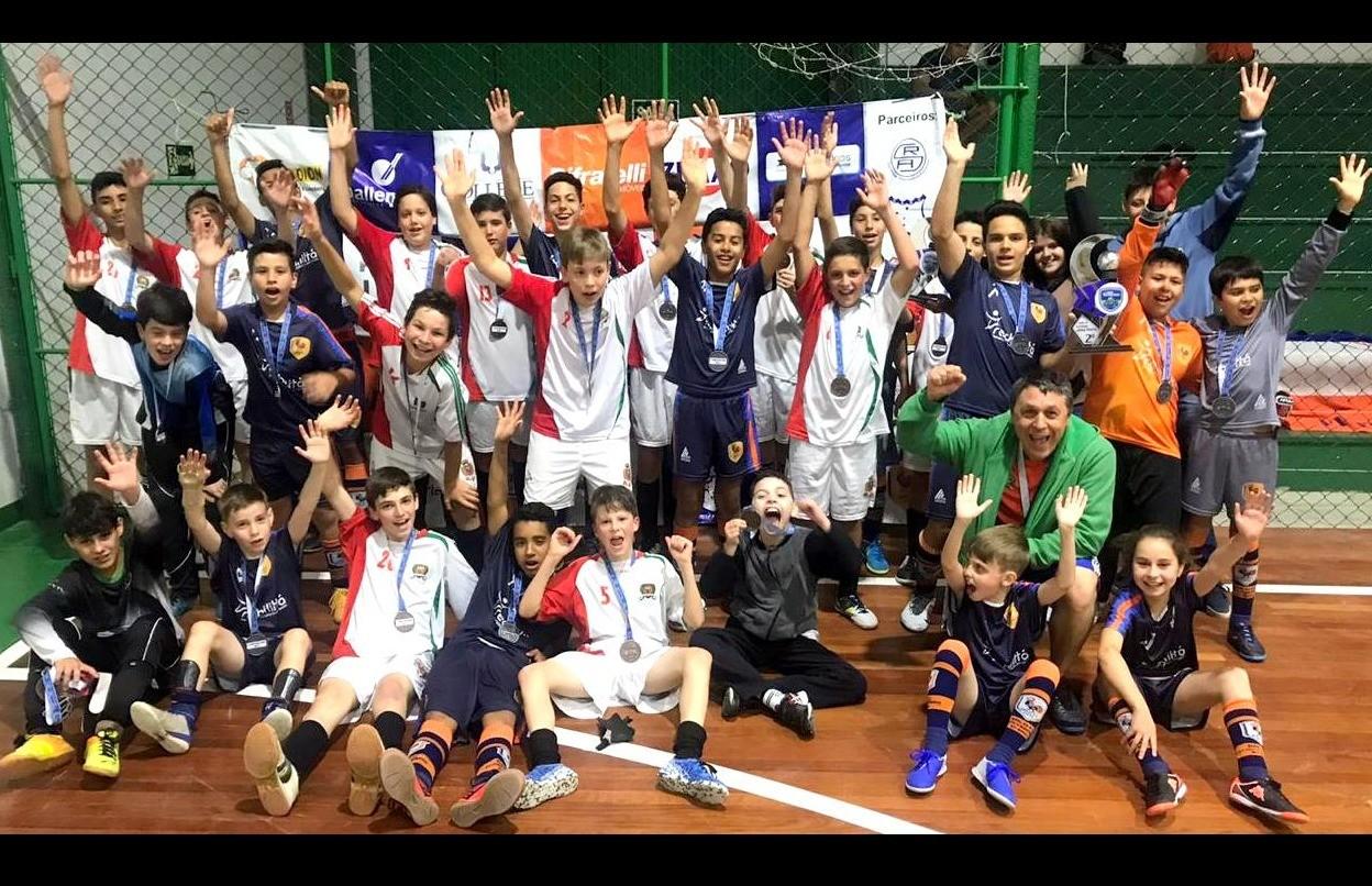 Galo F.C disputou as finais da Copa Vale das Antas de Futsal 2019