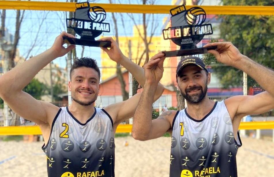 Claudio e Guilherme conquistam o título do Torneio de Vôlei de Praia em Capão da Canoa