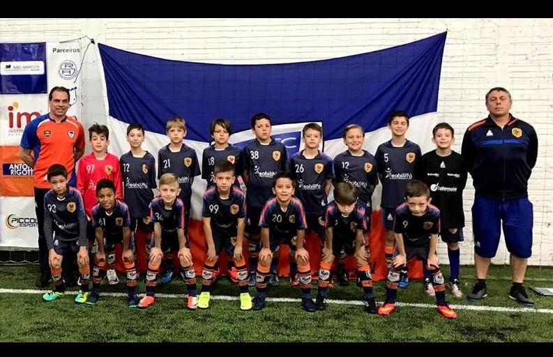 Categoria Sub 09 do Galo F.C está na final da Copa F7 de Futebol 7