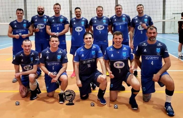 CER Cruzeiro, de São Gotardo, fica com o 2º lugar no Serrano de Voleibol