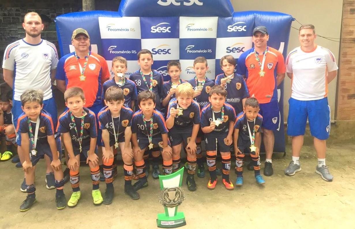 Galo F.C conquista três títulos da 8ª Copa Reabilita de Futebol 7