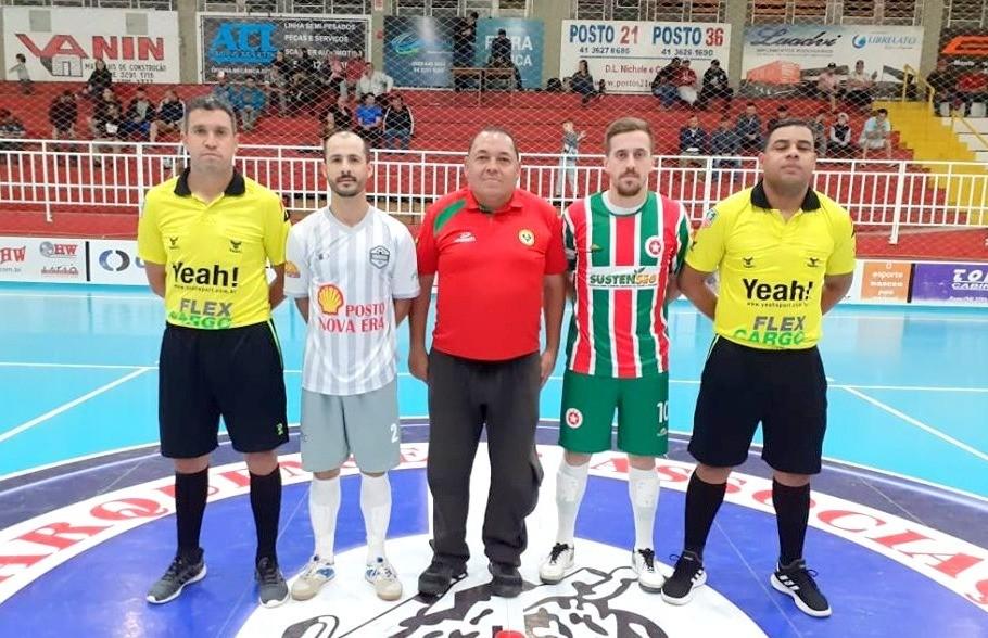 Funilaria do Tito e Gadanha FC fazem a final da Copa Vales da Serra de Futsal