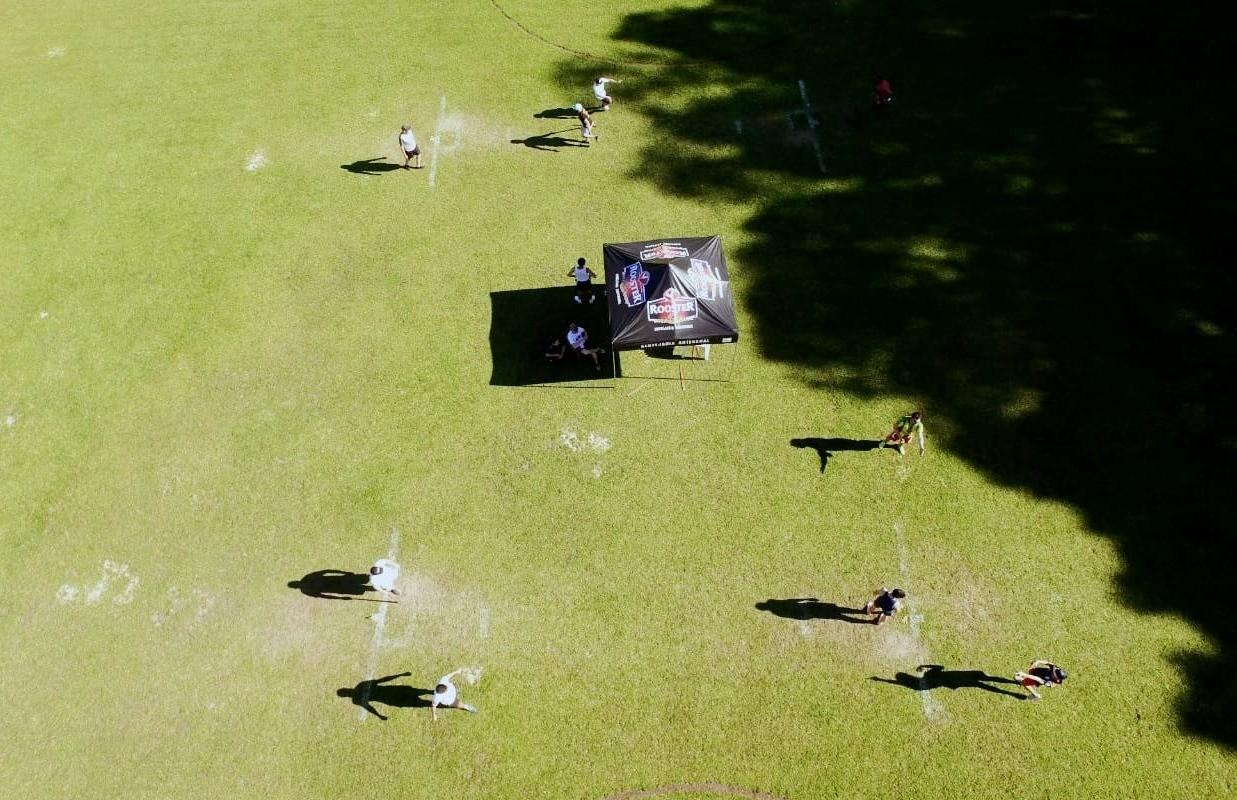 Chuva interrompe a disputa do torneio de taco de Flores da Cunha