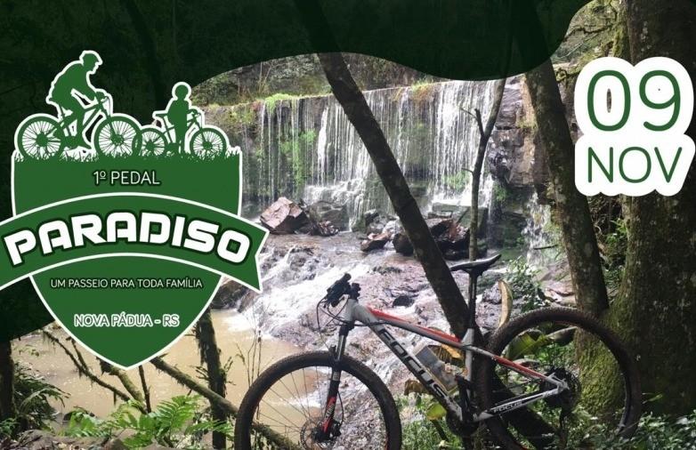 1º Pedal Paradiso em Nova Pádua: um passeio para toda a família