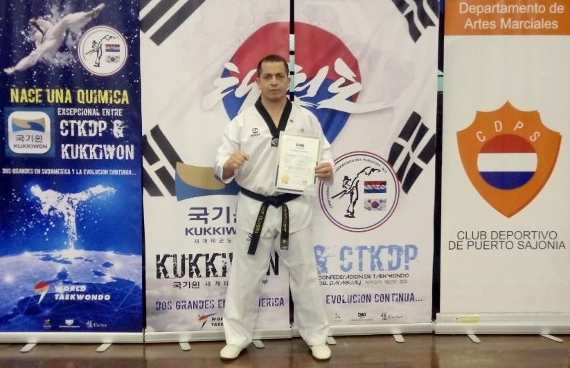 Grão-Mestre Jair Oliveira participa do Congresso Internacional de Taekwondo