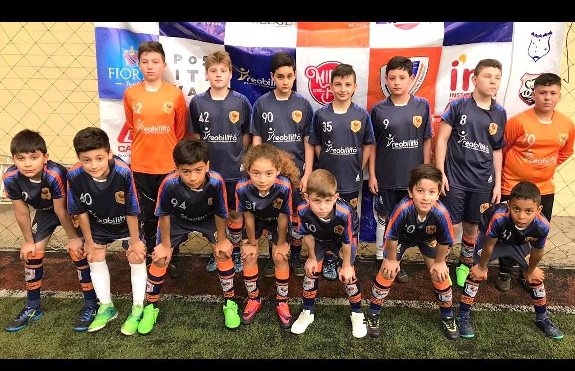 Categoria Sub 11 do Galo FC ocupa a 2ª posição na tabela da Copa F7