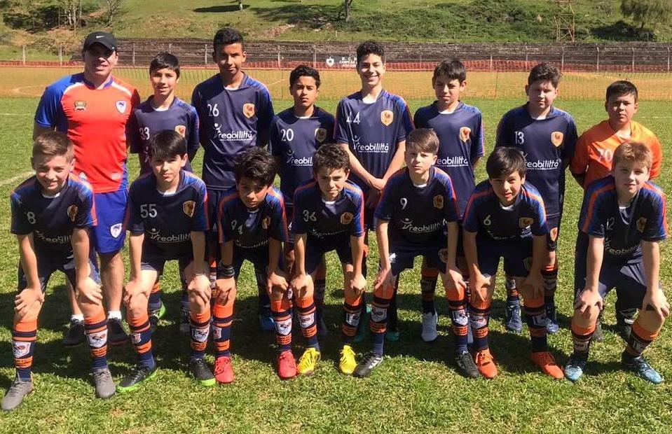 Categoria Sub 13 do Galo FC assumiu a vice-liderança da Copa F7 de Futebol 7