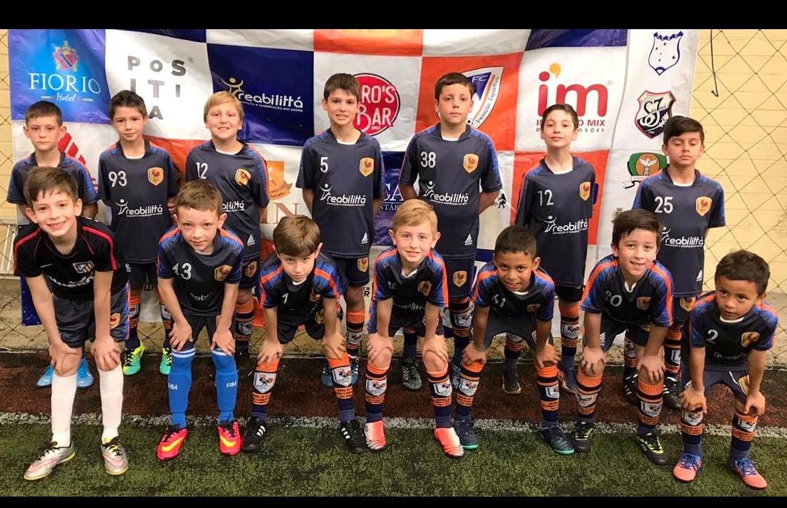 Equipe Sub 09 do Galo FC ocupa a 3ª colocação na disputa da Copa F7