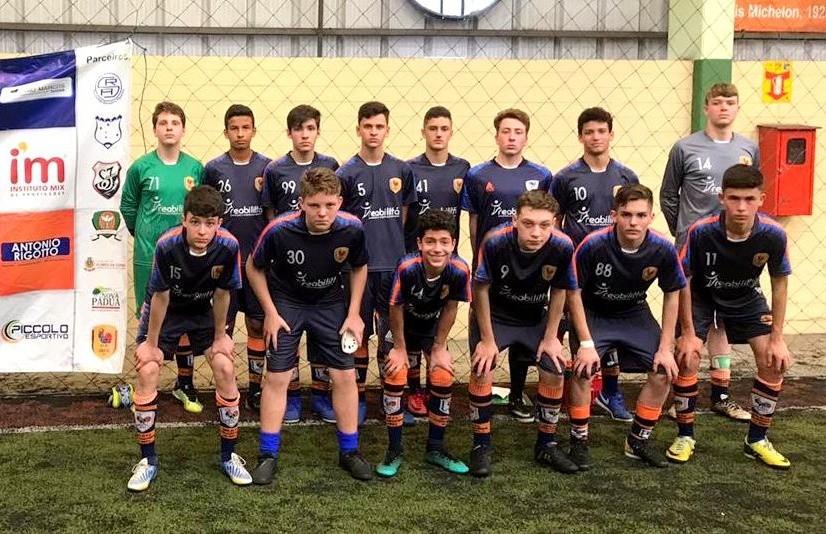 Equipe Sub 15 do Galo FC ocupa o 2º lugar na Copa F7 de Futebol 7