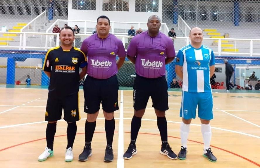 J.A e Nacional decidem o título do futsal veteranos de Flores da Cunha