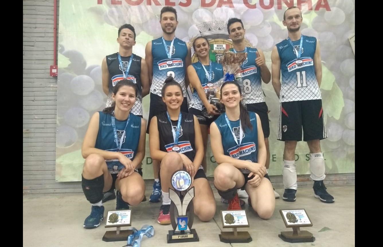 Bad Machine vence o Torneio de Vôlei de quadra misto aberto de Flores da Cunha