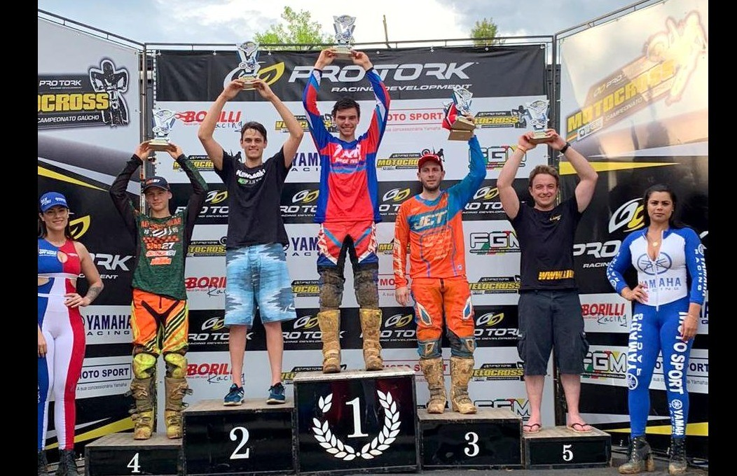 Bibit é 4º colocado e Marcelo Galiotto, o 5º, na Etapa do Gaúcho de Motocross