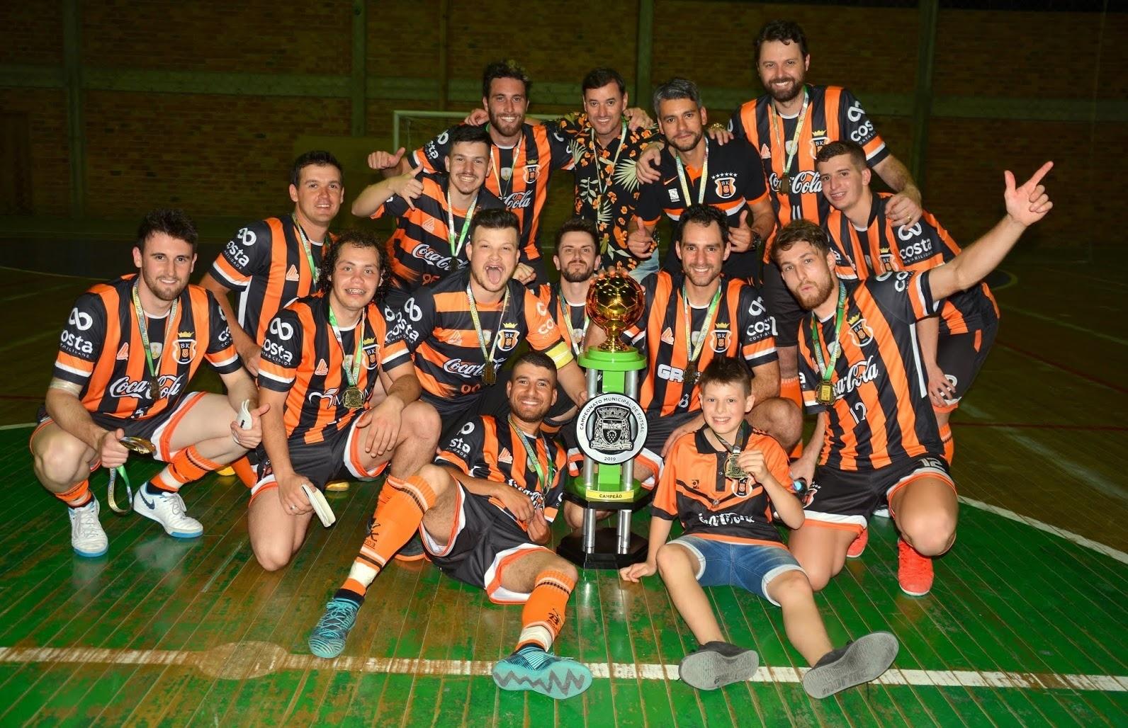 Black Killers é octacampeão do Futsal de Nova Pádua