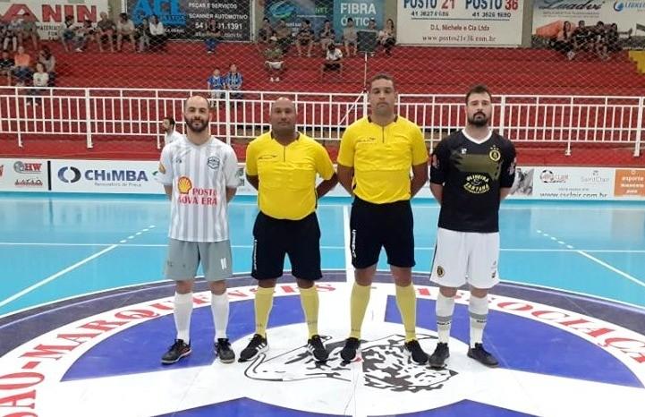 Broca 18 perde e está fora da Copa Vales da Serra de Futsal