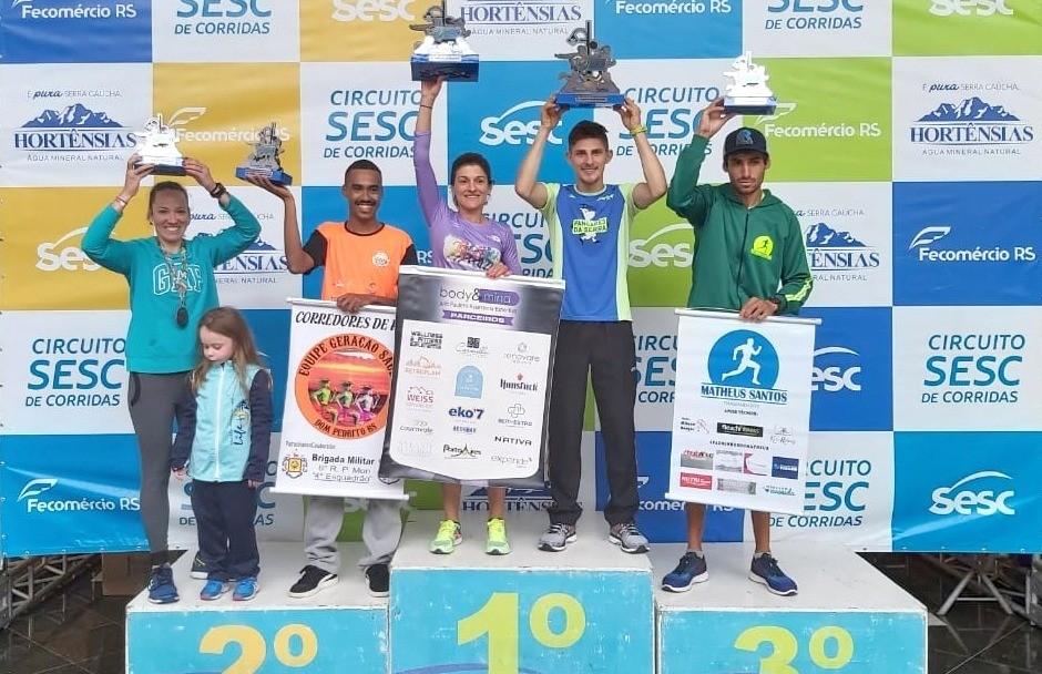 Dirceu Cândido vence etapa do Circuito Estadual SESC de Corridas