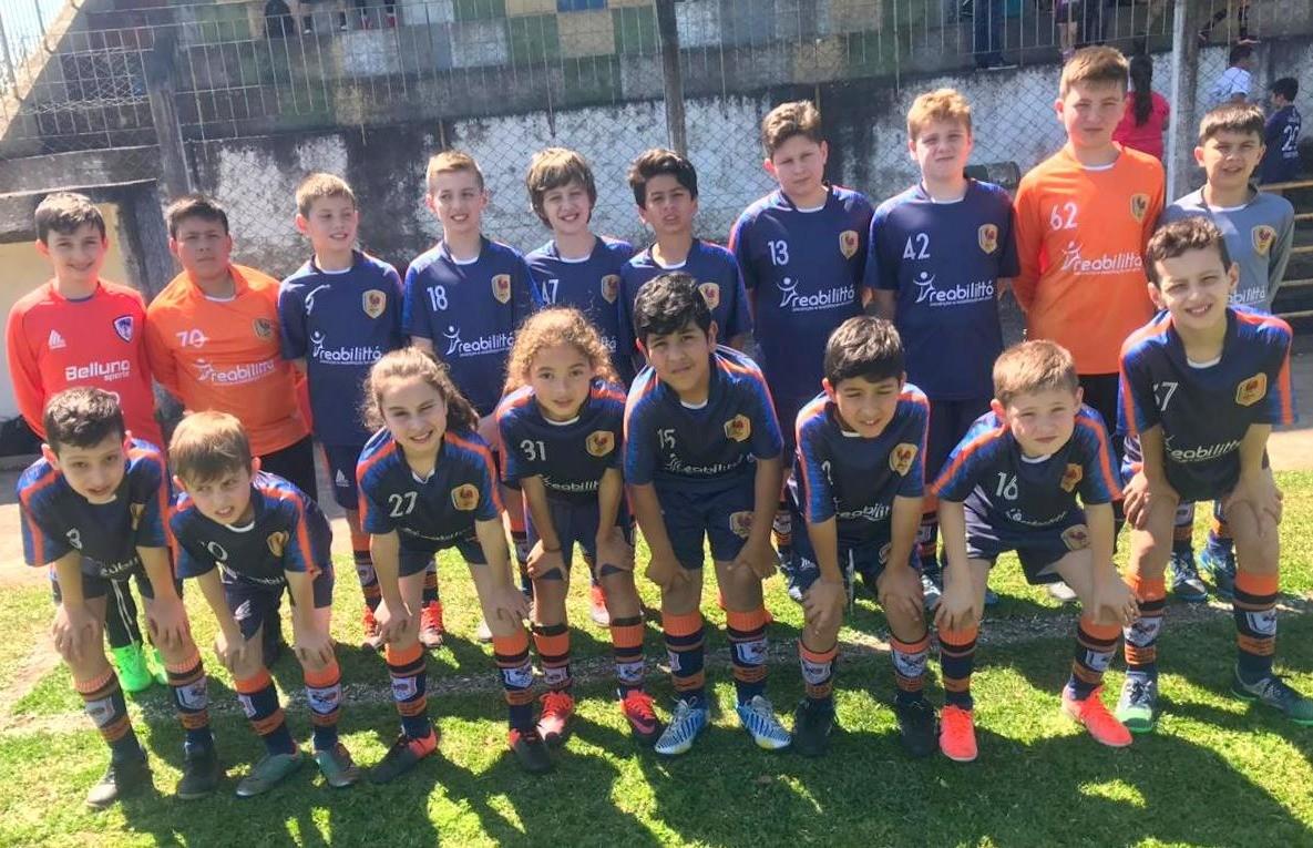 Resultados da equipe Galo FC na rodada da Copa F7 de Futebol 7