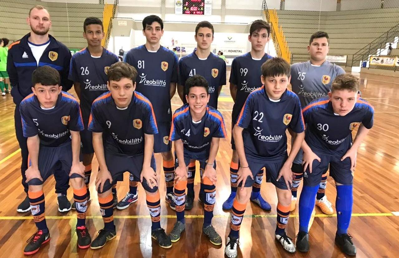 Galo FC empata e garante a classificação na Copa SESC Vale das Antas de Futsal