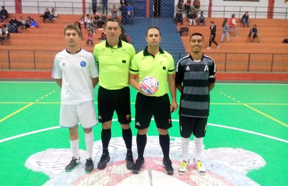 Broca 18 e Santo Antônio vencem o jogo de ida da fase de quartas de final da Copa Vales da Serra de Futsal