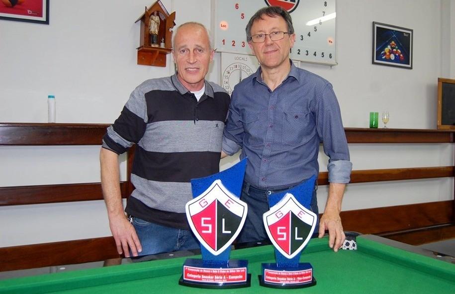 Celso Ortigara vence a categoria Snooker do Aberto de Sinuca do Clube São Luiz