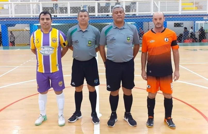 Chave B do futsal veteranos definiu os classificados para as quartas de final