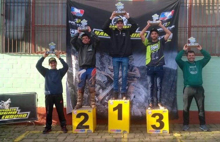 Piloto Joel Boniatti fica com o 4º lugar na etapa do Gaúcho de Hard Enduro