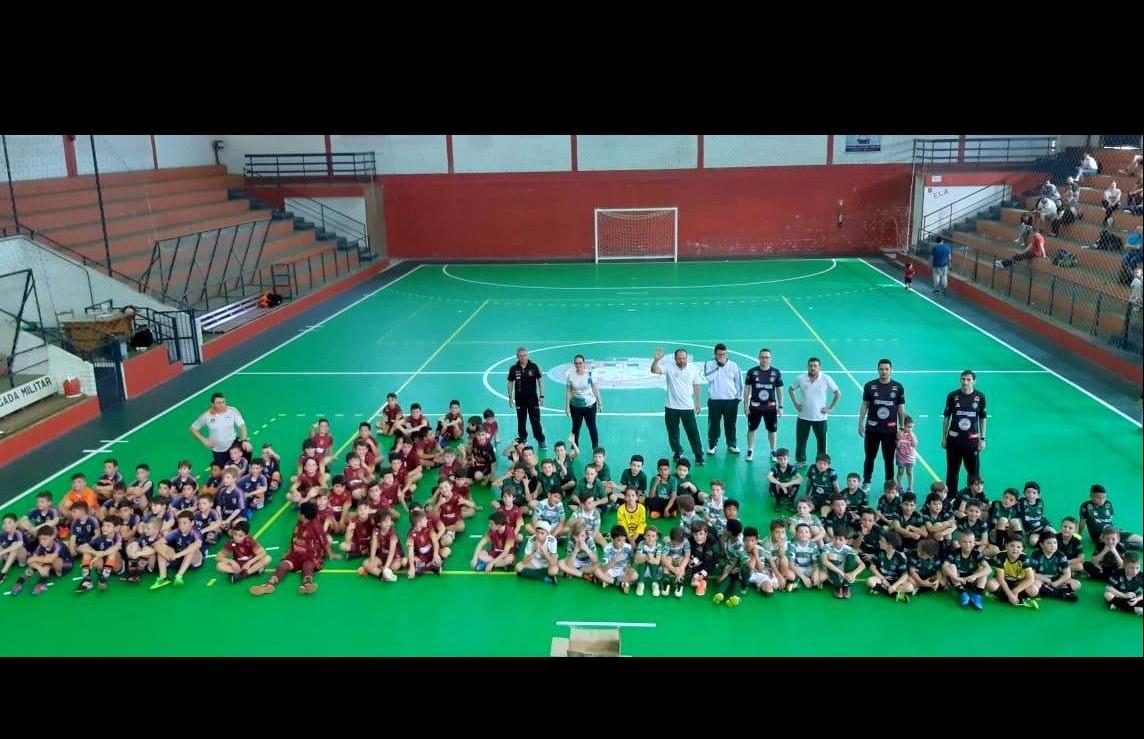 Galo FC participa do Festival SESC Vale das Antas de Futsal Sub 09
