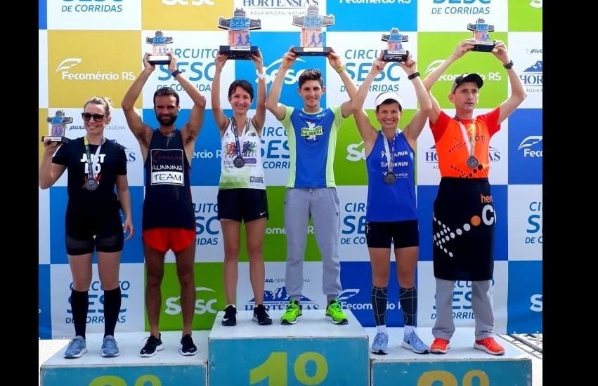 Florense Dirceu Cândido vence etapa do Circuito Estadual Sesc de Corridas