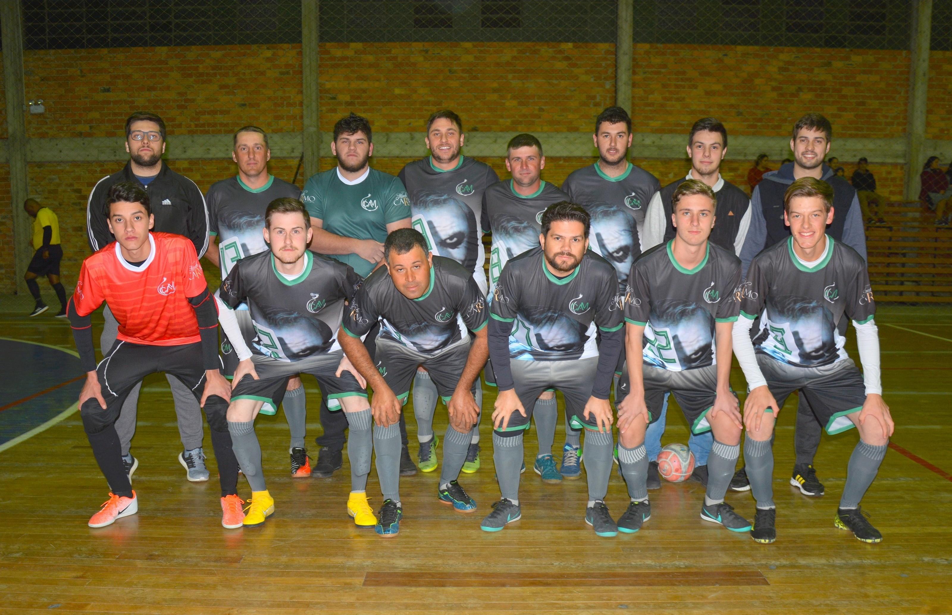 C.A.M F.C vence o terceiro jogo seguido e lidera o futsal de Nova Pádua