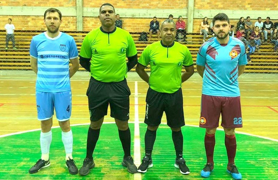 J.A Futsal e The Coca Fevers empatam na rodada do futsal de Nova Pádua