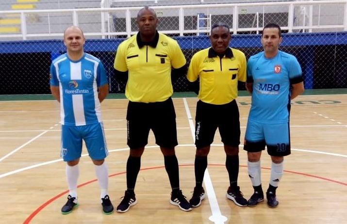 Em rodada com dois empates, J.A goleia e assume a liderança do futsal veteranos