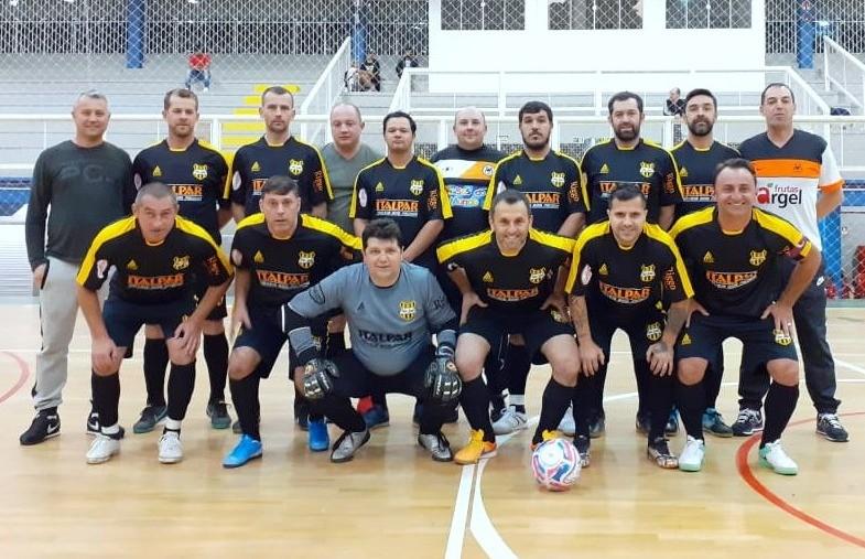 Nacional e Fronteira dividem a liderança do grupo B do futsal veteranos florense