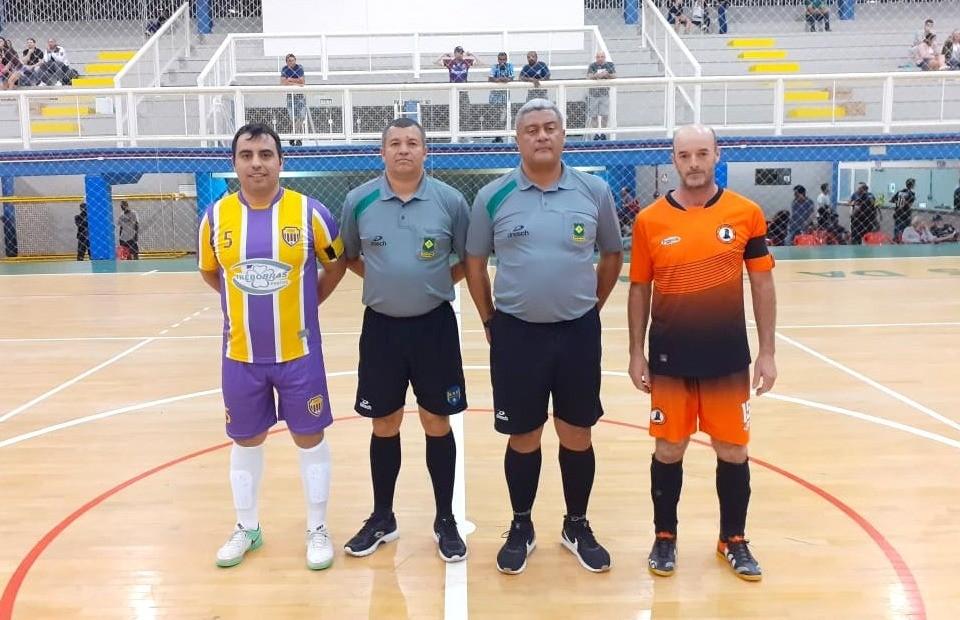 Nacional, Tabajara e Fronteira encerram a 1ª rodada do futsal veteranos com vitória