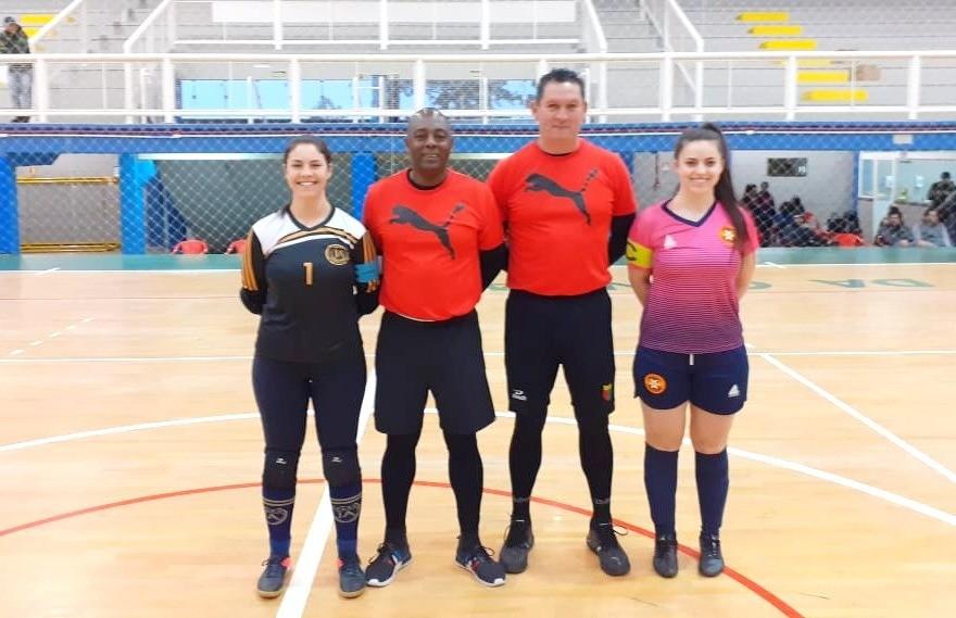 Definidos os confrontos da fase semifinal do futsal feminino de Flores da Cunha