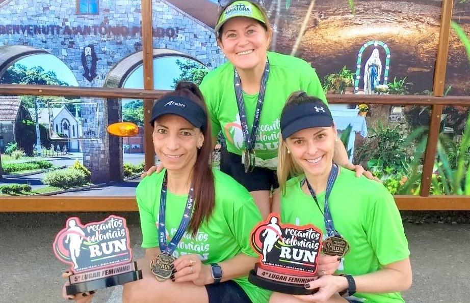 Atletas florenses participam da primeira edição da Recantos Coloniais Run de Antônio Prado