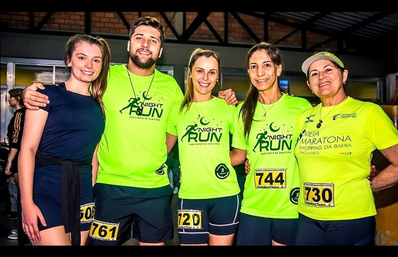 Atletas florenses participam da 1ª Night Run
