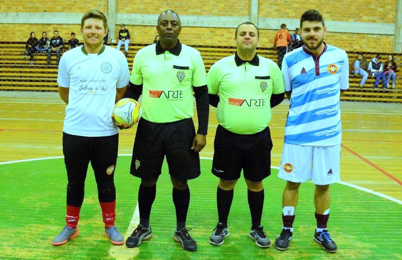 Definidos os grupos do futsal de Nova Pádua