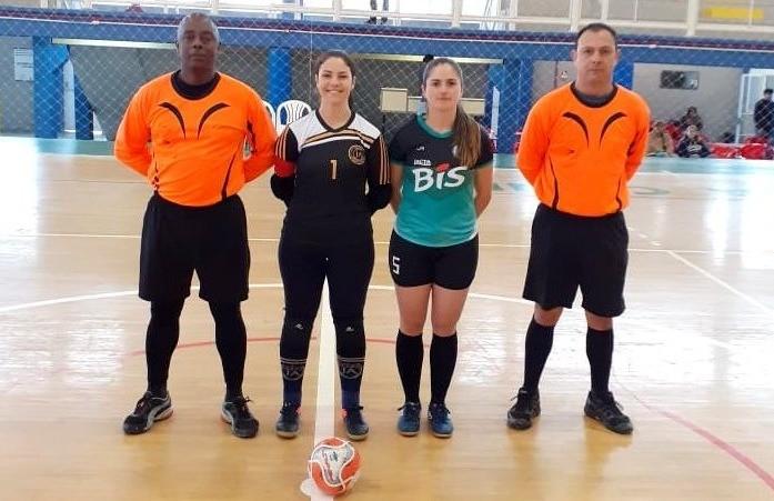 Jorgitas vencem a segunda seguida e lideram o futsal feminino de Flores da Cunha