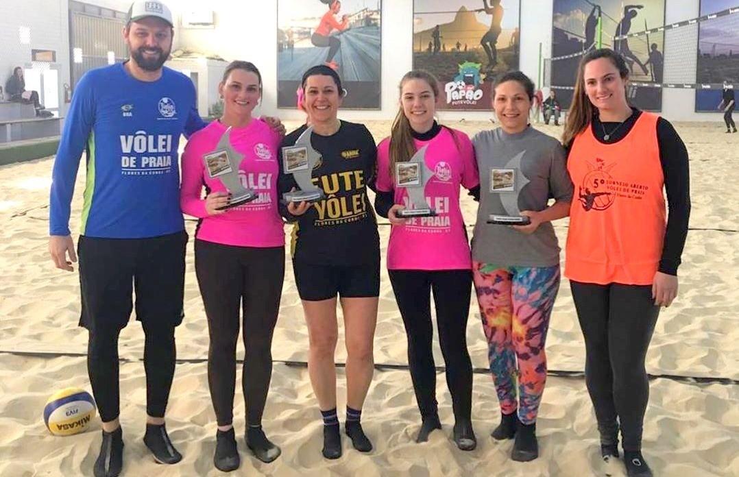 Torneio interno de vôlei de praia esquentou as quadras da Fiorio Esportes
