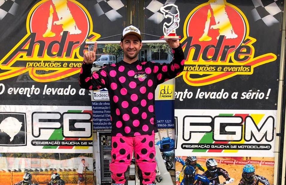 Rodrigo Galiotto vence a 5ª etapa do Regional de Motocross