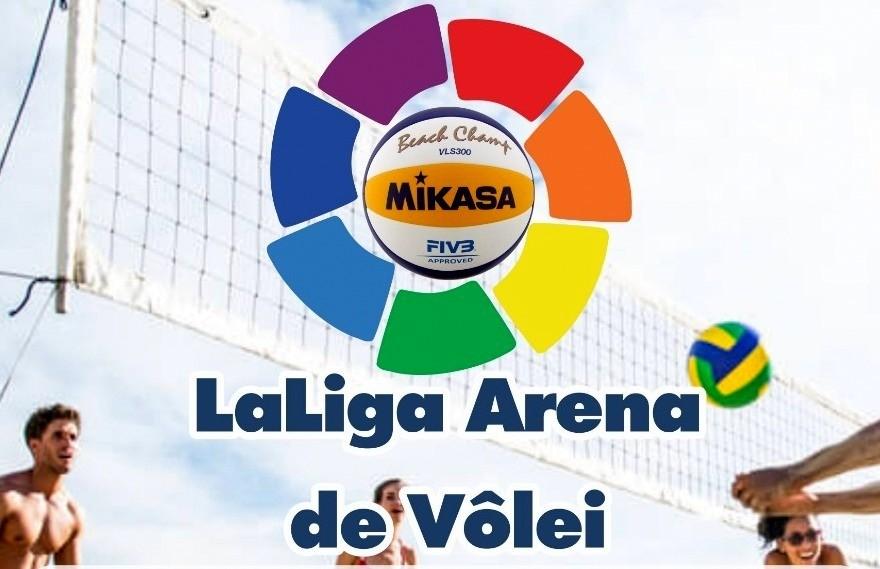 Decisão do La Liga de Vôlei de Praia Feminino na Arena Beach Sports